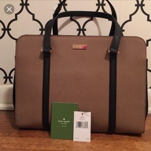 Kate Spade Newbury Lane shoulder tote